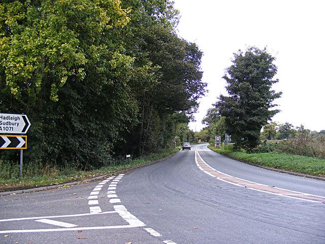 A1071 Ipswich Road, Hintlesham