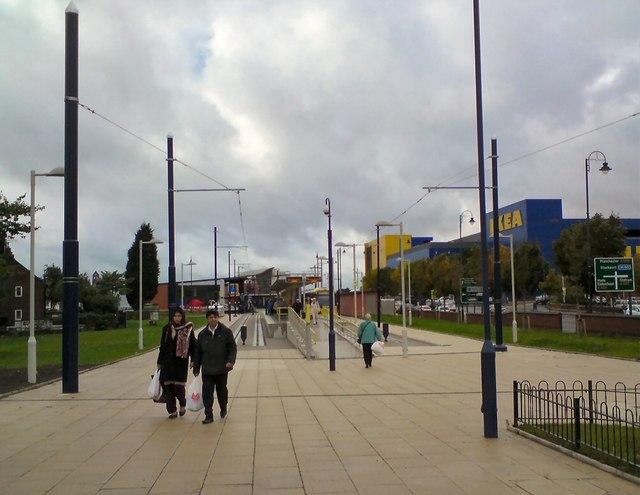 Metrolink arrives in Ashton