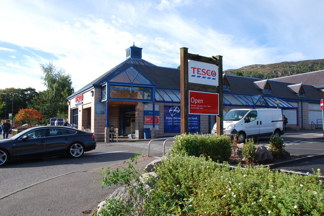 Tesco in Aviemore