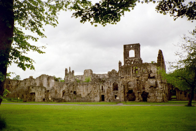 Kirkstall Abbey from the South-East