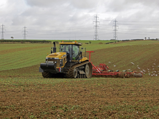 Rolling near North Wold Farm