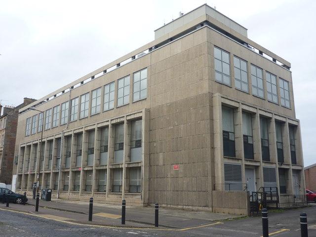 Edinburgh Architecture : East London Street Telephone Exchange
