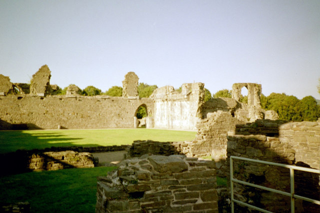 Neath Abbey, cloister