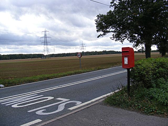 Park Farm Postbox