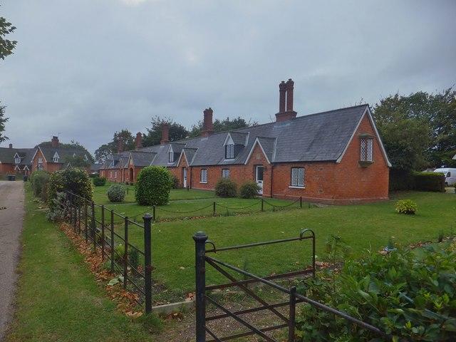 Joseph Banks' Almhouses, Revesby