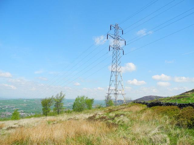 Power Lines, Shaw Moor (2)