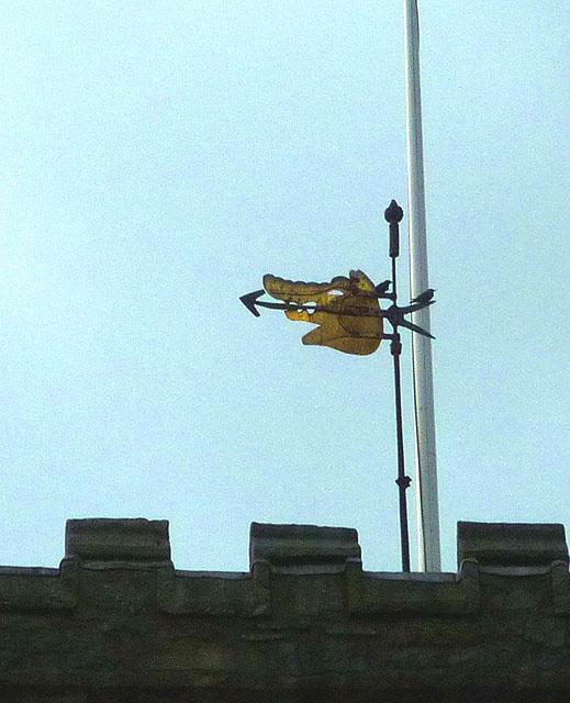 Wind vane, Cartmel Priory
