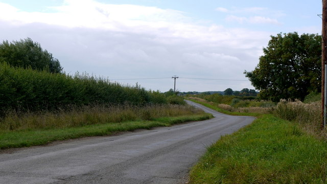 Road to Glapthorn