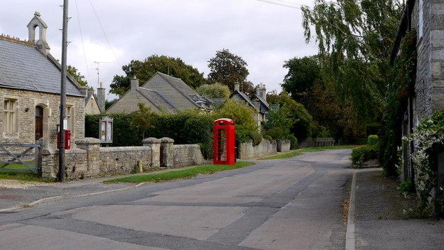 Cotterstock village street