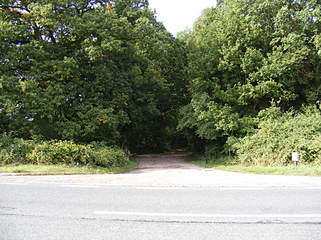 Entrance to Wolves Wood Nature Reserve