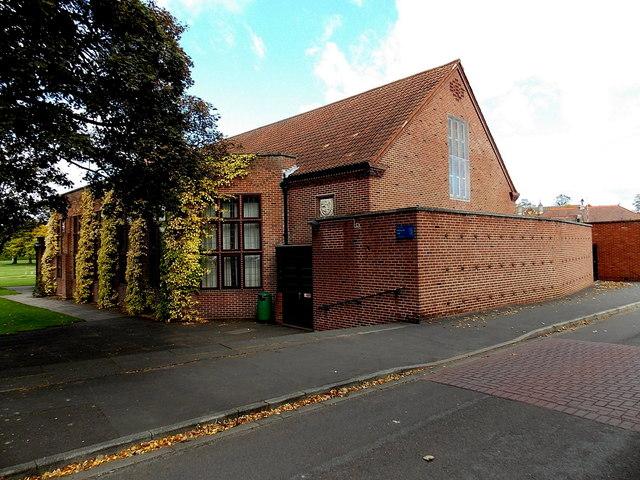 Memorial Hall, Wrekin College, Wellington
