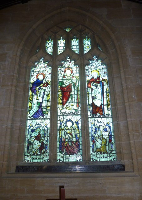 St. Michael, Over Compton: stained glass window (C)
