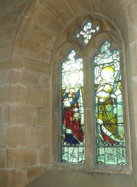 St. Michael, Over Compton: stained glass window (D)