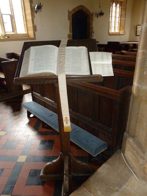Inside St Nicholas, Nether Compton (a)