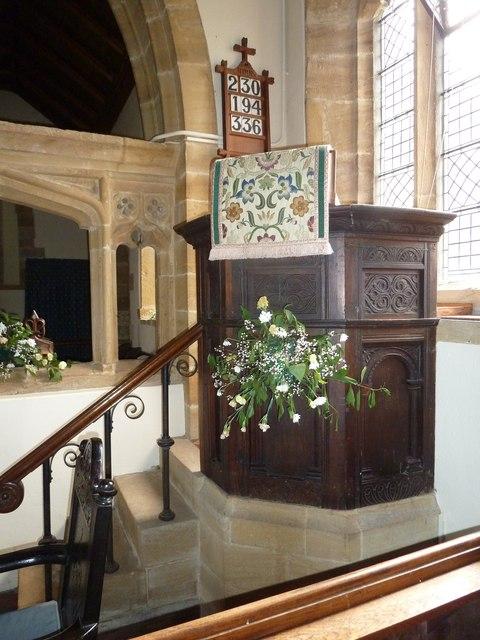 Inside St Nicholas, Nether Compton (b)