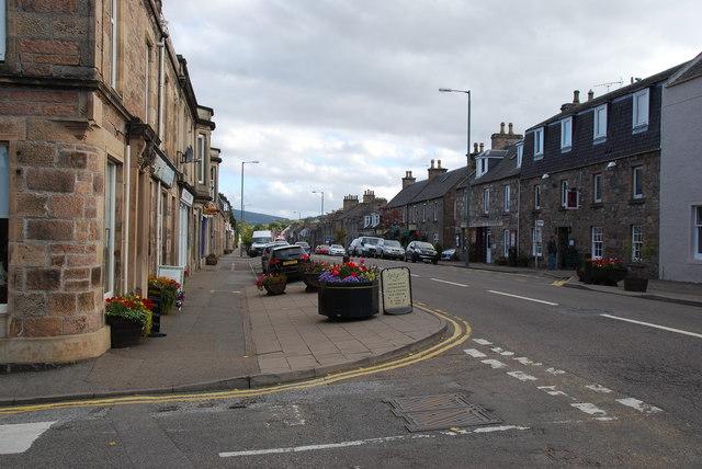 High Street Charlestown of Aberlour