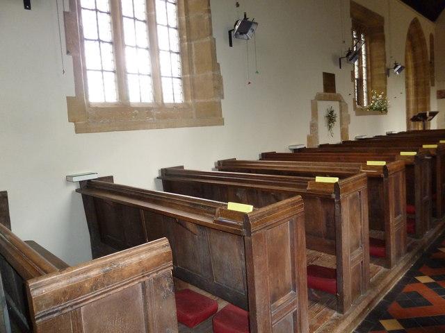 Inside St Nicholas, Nether Compton (i)
