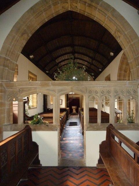 Inside St Nicholas, Nether Compton (j)