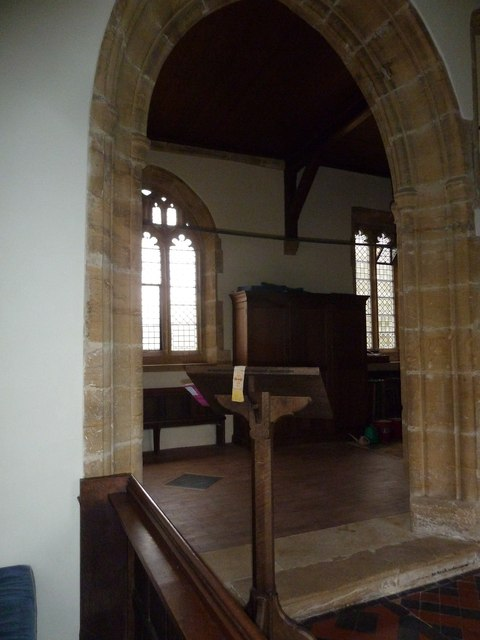 Inside St Nicholas, Nether Compton (k)