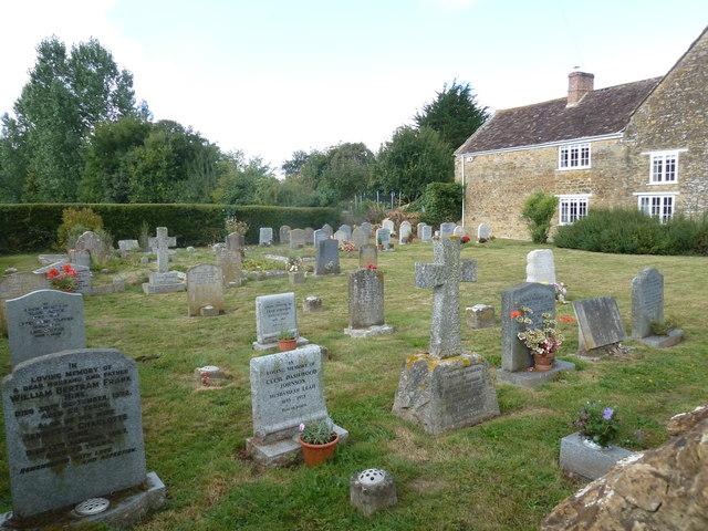 St Nicholas, Nether Compton: churchyard  (1)