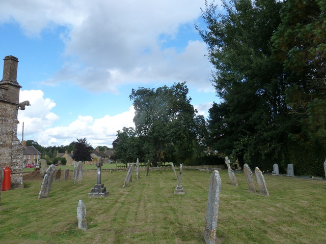 St Nicholas, Nether Compton: churchyard (3)