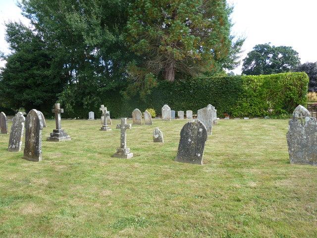 St Nicholas, Nether Compton: churchyard (5)