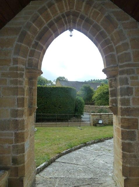 St Nicholas, Nether Compton: churchyard (6)