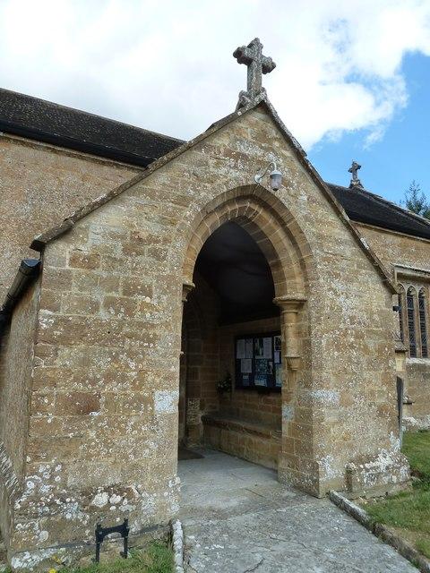 St Nicholas, Nether Compton: porch