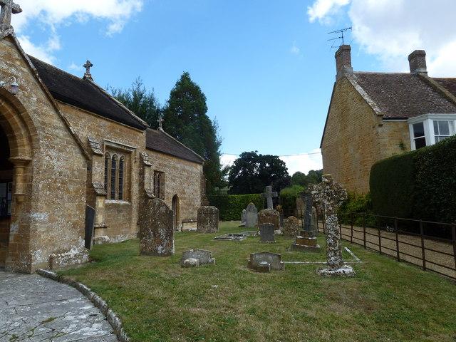 St Nicholas, Nether Compton: churchyard (7)