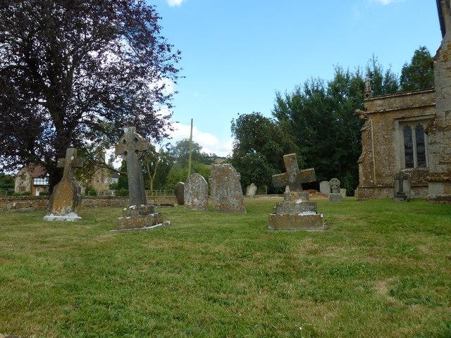 St Nicholas, Nether Compton: churchyard (8)