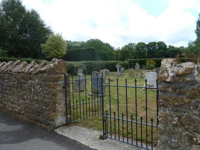 St Nicholas, Nether Compton: churchyard (9)