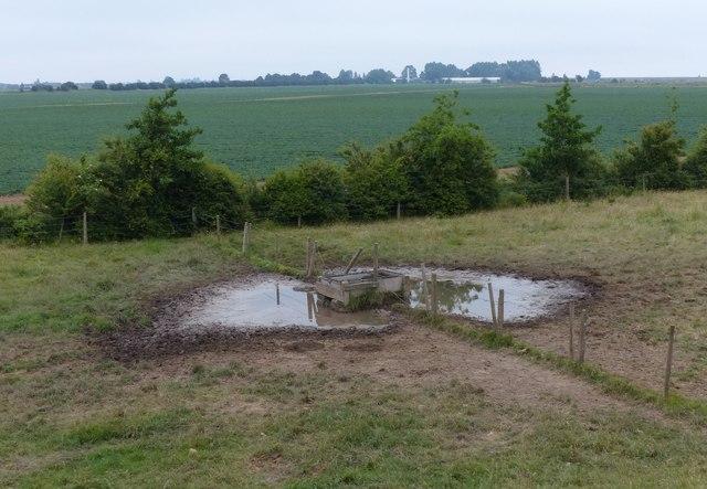 Cattle trough near Cut End car park