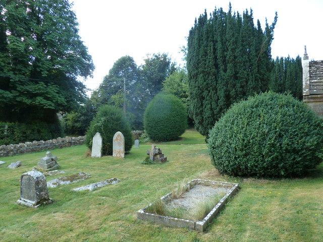 Oborne: New St Cuthbert's (churchyard 2)