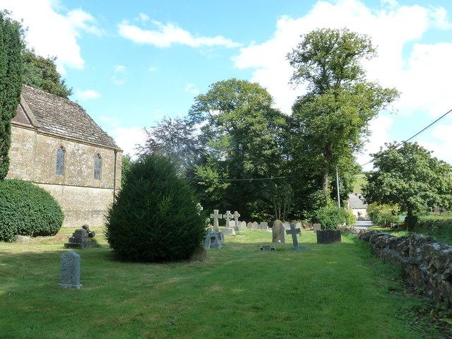 Oborne: New St Cuthbert's (churchyard 5)