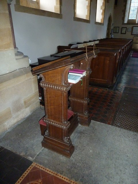Oborne: New St Cuthbert's (prayer desk)