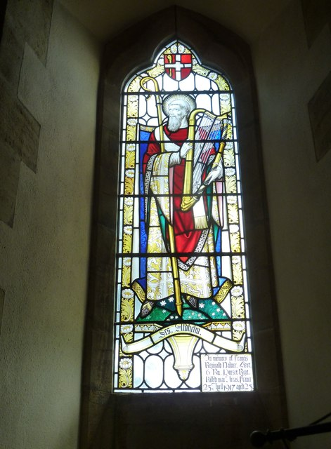 Oborne: New St Cuthbert's (stained glass window 3)