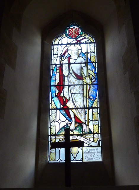 Oborne: New St Cuthbert's (stained glass window 2)