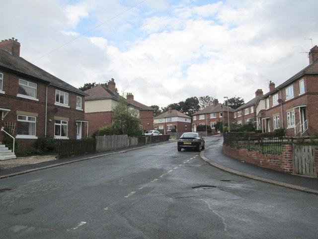 Margaret Street - viewed from Queen Elizabeth Street