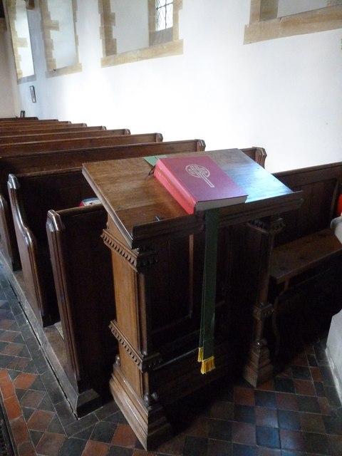 Oborne: New St Cuthbert's (lectern)