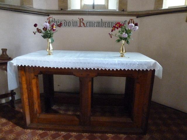 Oborne: New St Cuthbert's (altar)