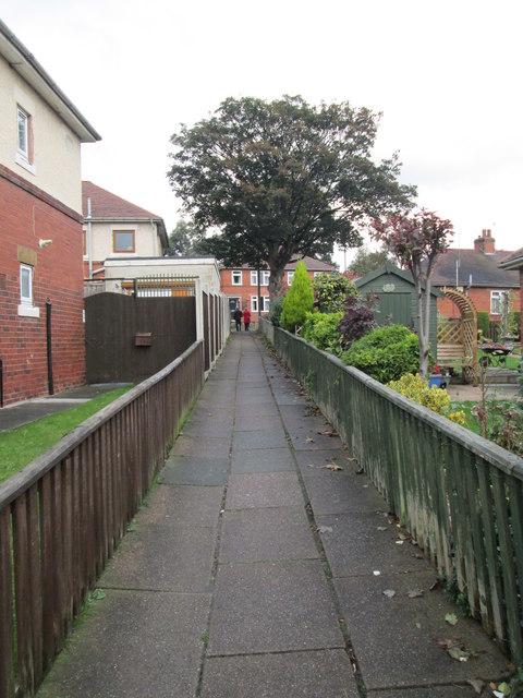Footpath - King George Street
