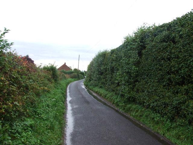 Claxfield Road, near Lynsted