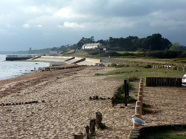 The foreshore at Lepe