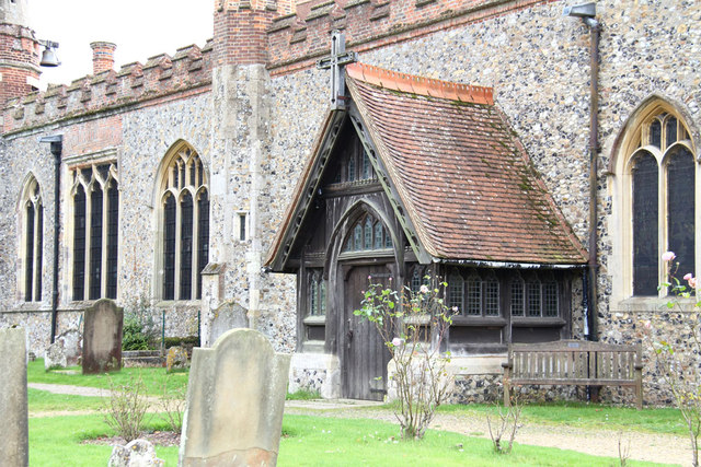 St Andrew, Hatfield Peverel - Porch