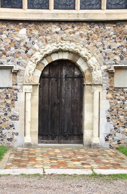 St Andrew, Hatfield Peverel - Doorway