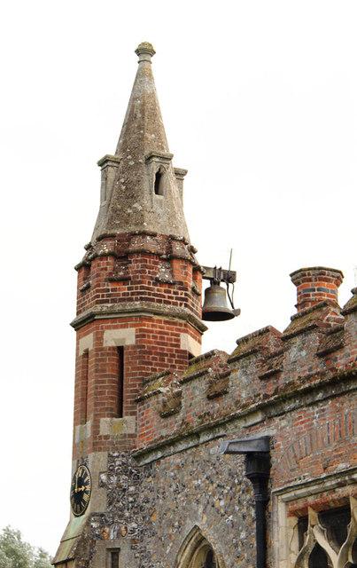 St Andrew, Hatfield Peverel - Bell turret