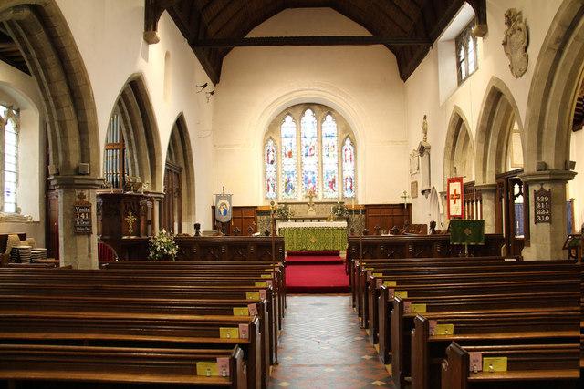 St Andrew, Hatfield Peverel - East end
