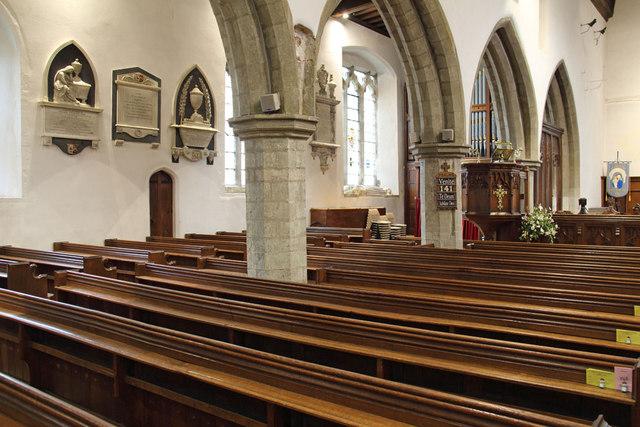 St Andrew, Hatfield Peverel - North arcade