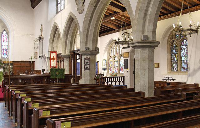 St Andrew, Hatfield Peverel - South arcade