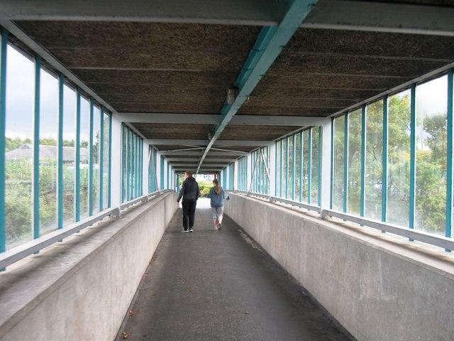 Bridge over M6, Southwaite Services
